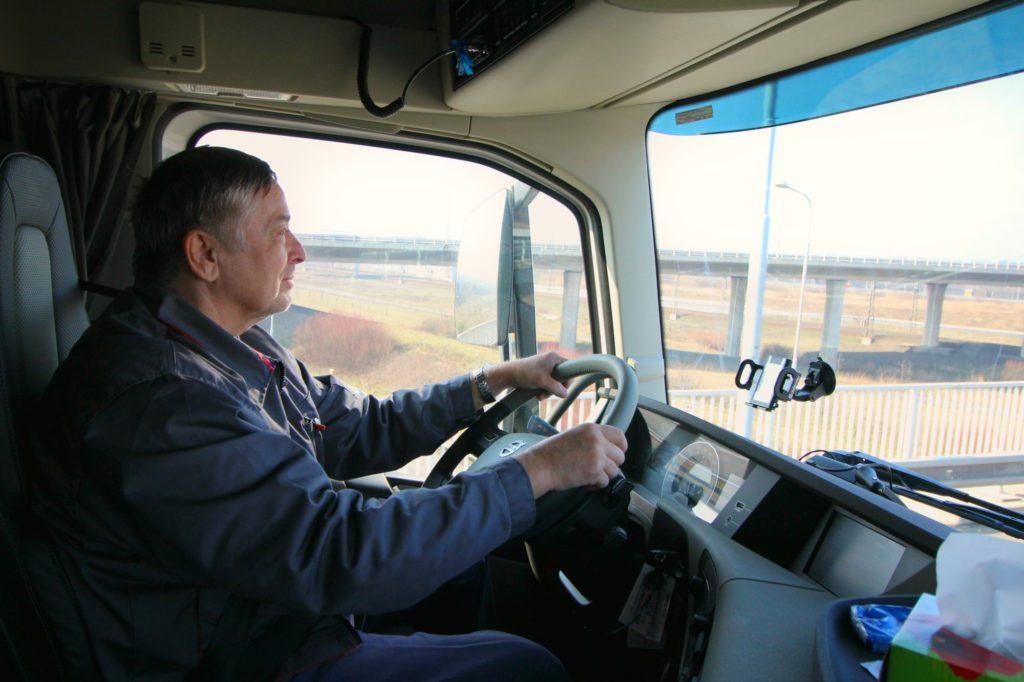 JC TRANS řidič